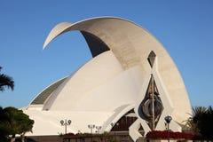 Auditorium in Santa Cruz de Tenerife Stock Photography