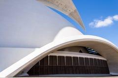 Auditorium. Of Santa Cruz de Tenerife in Spain Royalty Free Stock Photos