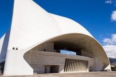 Auditorium. Of Santa Cruz de Tenerife in Spain Stock Photography