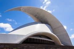Auditorium. Of Santa Cruz de Tenerife in Spain Royalty Free Stock Photo