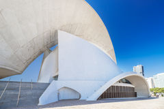 Auditorium at Santa Cruz Tenerife Spain side details Stock Images