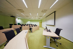 Auditorium Sao Paulo for 45 people and 137 sq.m Stock Images