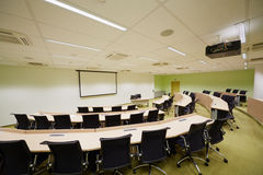Auditorium Sao Paulo for 45 people and 137 sq.m Royalty Free Stock Photo