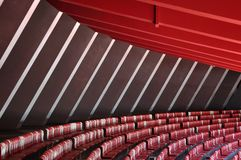 Auditorium  and  seat in Stadium Royalty Free Stock Images