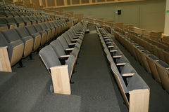Auditorium Seating Stock Photography