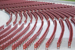 Auditorium Seating Royalty Free Stock Images