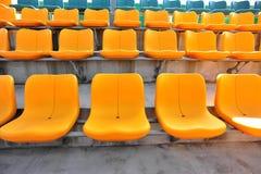 Auditorium seats Stock Photo