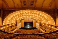 Auditorium Theatre. Of Roosevelt University in Chicago, Illinois stock image