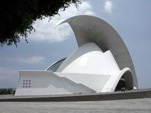 Auditorium von Tenerife Stockfotografie