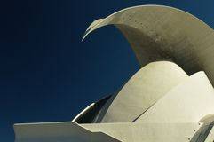 Auditorium von Tenerife lizenzfreies stockfoto