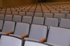 Auditoriums-Sitze Stockfotos
