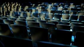 Auditório vazio do cinema video estoque