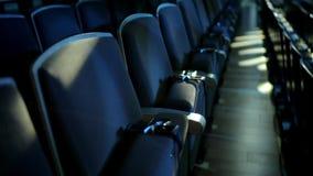 Auditório vazio do cinema vídeos de arquivo