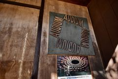Audium το παγκόσμιο μόνο υγιές θέατρο, 2 στοκ εικόνες