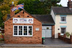 Audlem Chip Shop Royalty Free Stock Images
