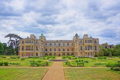 Audley End House and Garden Front in Essex in England Royalty Free Stock Photography