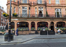 The Audley Pub London Stock Photography