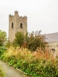 Audoen-` s Kirche, Dublin, Irland Stockfotos