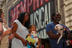 Audra McDonald & Norm Lewis Royalty Free Stock Photos