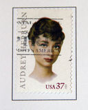 Audrey Hepburn Stock Afbeelding