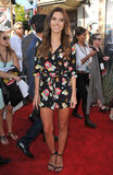 Audrina Patridge. ANAHEIM, CA - JUNE 22, 2013: Audrina Patridge at the world premiere of The Lone Ranger at Disney California Adventure Stock Image