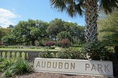Audubon parkerar i New Orleans royaltyfri foto