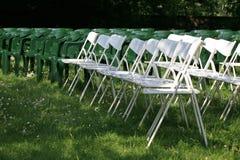 audytoriów krzesła Obraz Royalty Free
