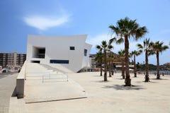 Audytorium i kongresu pałac w Aguilas, Hiszpania Obrazy Stock