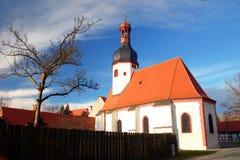 auenkirche教会德国中世纪 免版税库存照片