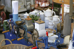 Auer Dult Flea Market in Munich, Bavaria Royalty Free Stock Images