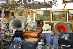Auer Dult Flea Market in Munich, Bavaria Royalty Free Stock Photography