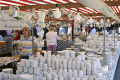 Auer Dult Traditional Market in Munich, Bavaria Stock Image