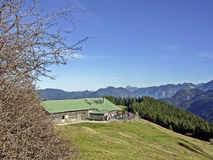 Aueralm in the Tegernseer Alps Stock Image