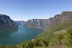Auerlandsfjord Stock Foto's