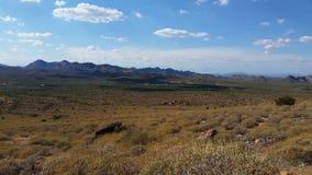 Auf abergläubischen Mt arizona lizenzfreie stockfotografie