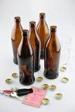 Auf Alkoholsteuer Lizenzfreie Stockfotos