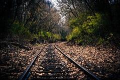 Auf Bahn Stockfoto
