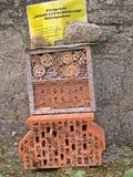 Auf Bahngrund de Bienen Fotos de archivo libres de regalías