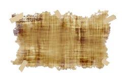 Auf Band aufgenommenes altes Pergament vektor abbildung