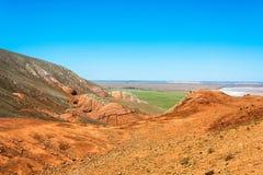 Auf Berg großes Bogdo Lizenzfreies Stockfoto