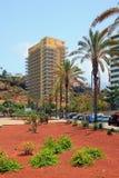 Auf Cristobal Colon Avenue Puerto de la Cruz, Teneriffa, Spanien Stockfoto