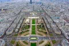 Auf das Frühjahr Eiffelturm-Paris Frankreich lizenzfreie stockbilder