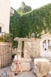 Auf dem Bereich von altem Budva, Montenegro Lizenzfreie Stockbilder