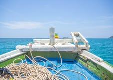 Auf dem Boot Stockfotos