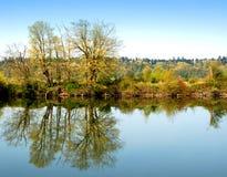 Auf dem Fluss Lizenzfreie Stockfotografie