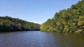 Auf dem Fluss Lizenzfreies Stockbild