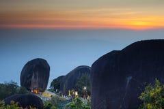 Auf dem Gipfel von Mt Khitchakut Lizenzfreies Stockfoto
