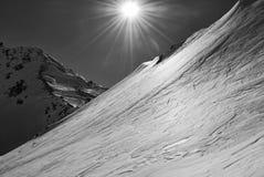 Auf dem Gletscher Lizenzfreies Stockbild