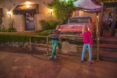 Auf dem Hard Rock Cafe in Sharm El Sheikh Stockfotografie