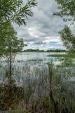 Auf dem Kanal Lizenzfreies Stockbild